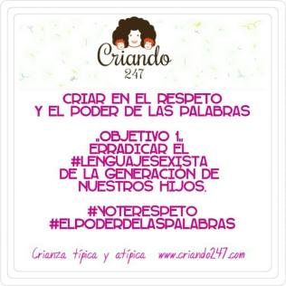 Criando247.com Erradicar Lenguaje Sexista