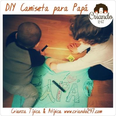Criando247 DIY Camiseta Día del Padre