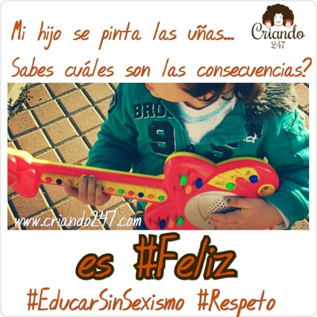 www.criando247.com EducarSinSexismo Uñas