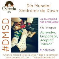 Criando247 Día Mundial Síndrome de Down