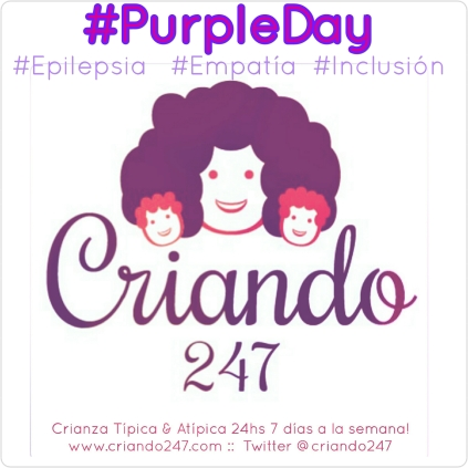 Criando247 #PurpleDay #epilepsia