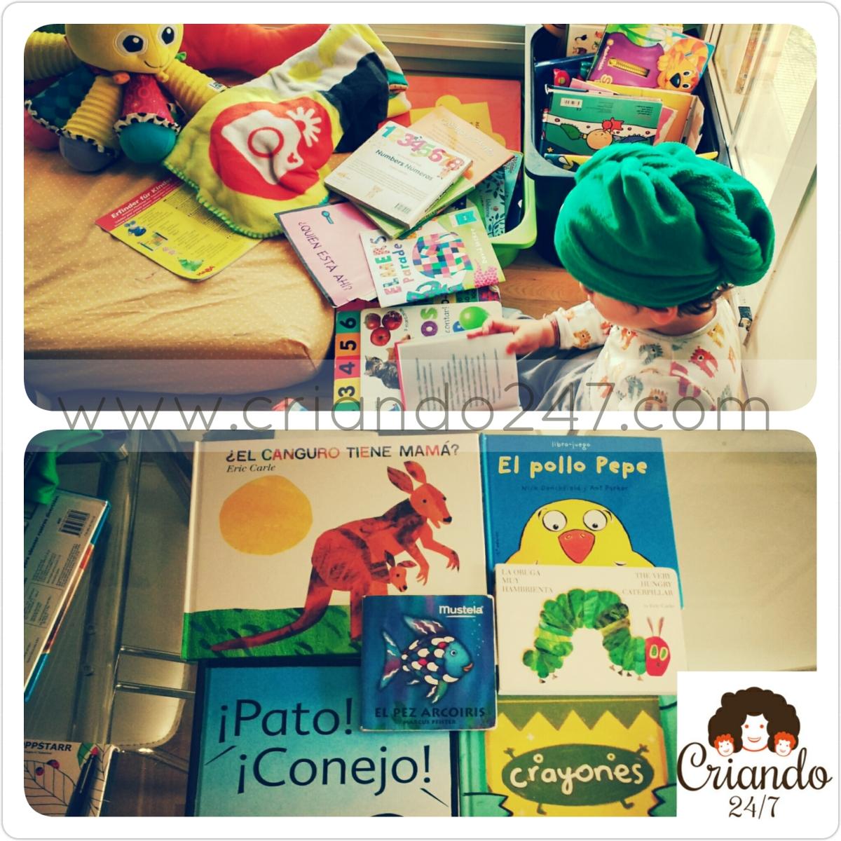 #HoyLeemos Los 6 cuentos preferidos de mis hijos de 2 y 4 años