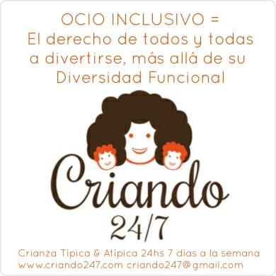 Criando 24/7 OCIO INCLUSIVO