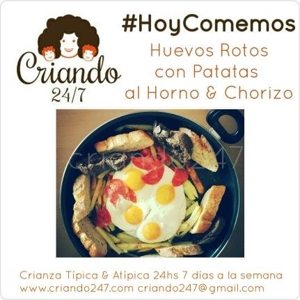 Criando247 RecetaFacil HuevosRotos