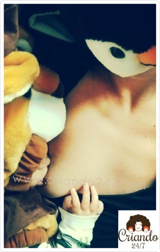 Criando247 #lactancia pingüina león