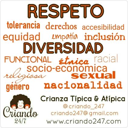 criando247 respeto a la diversidad