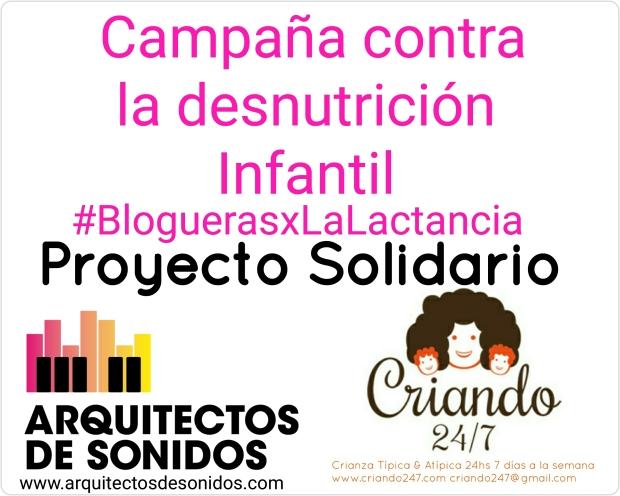 Proy Solidario AdS Criando247 Bloguerasxlalactancia