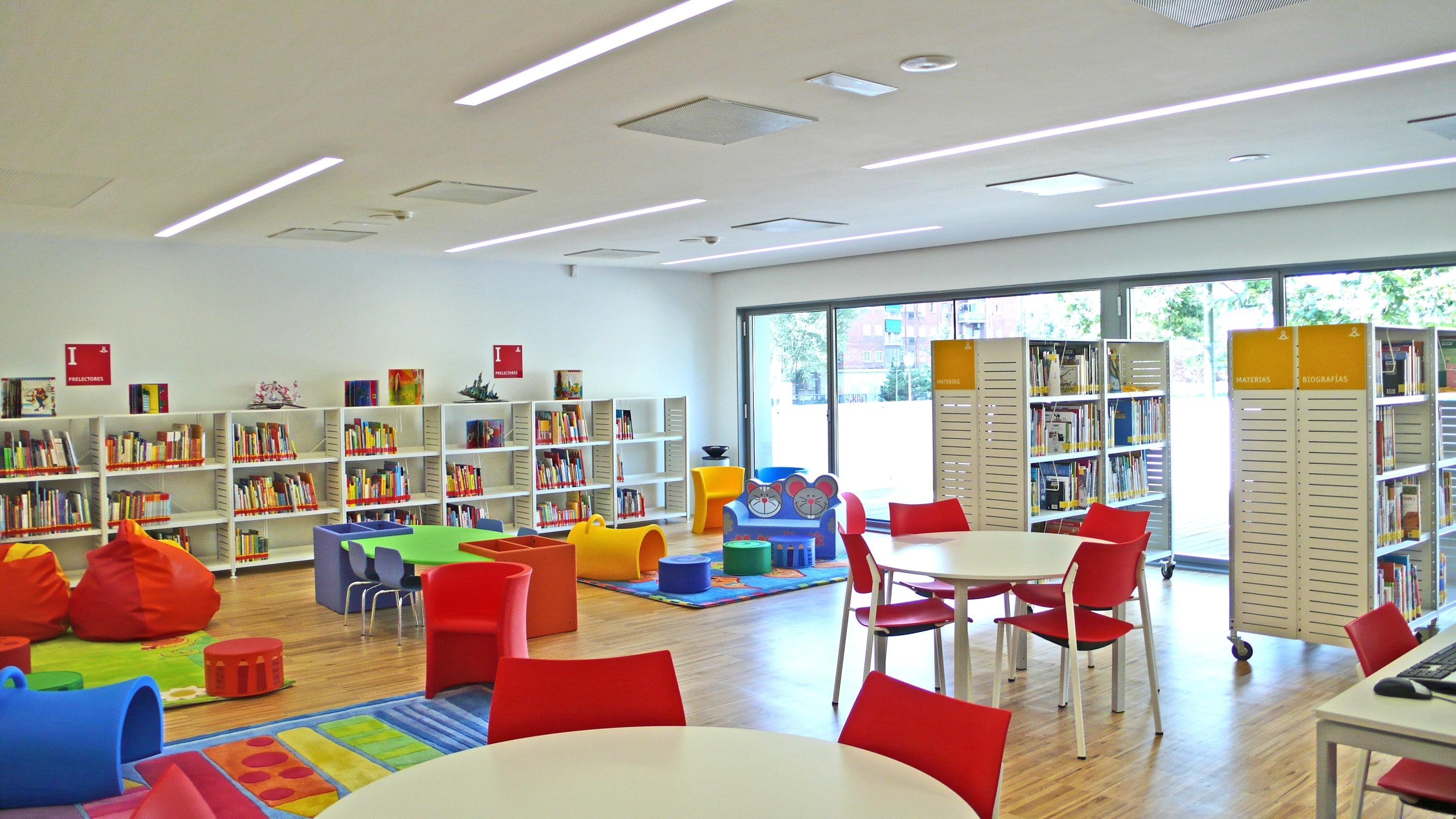 Biblioteca.Zona Infantil