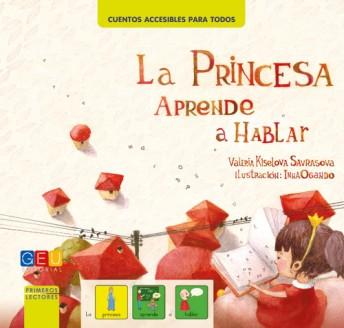 la princesa aprende a hablar