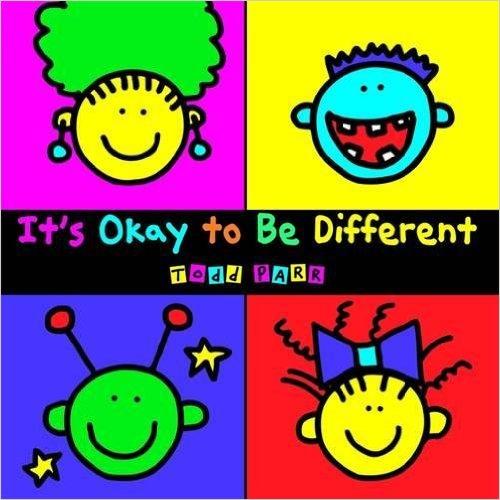 portada del libro It´s ok to be different de Todd Parr