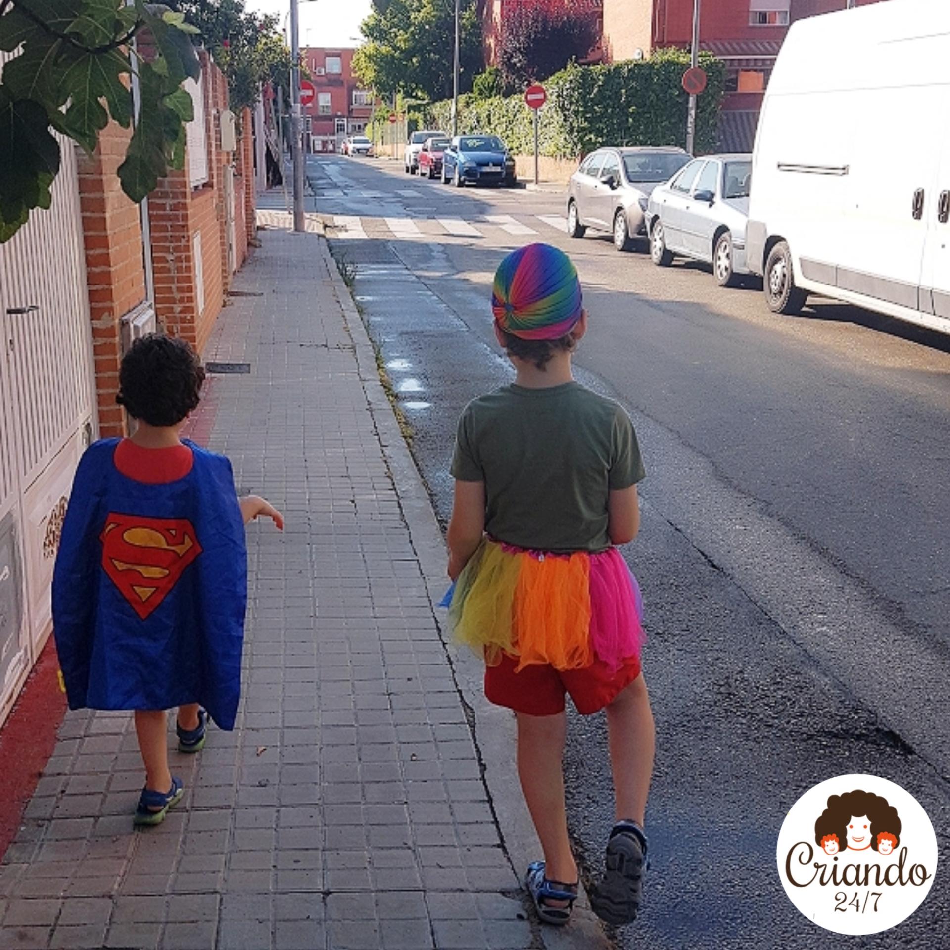 Raibowman Superman y el orgullo