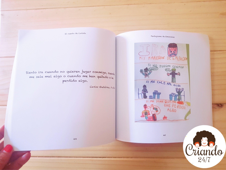 Cuento infantil solidario Pentagrama de Emociones - la ira